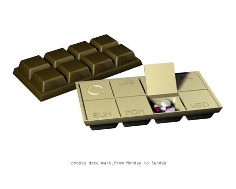 коробка для таблеток от Leo Yiu Chun Pong
