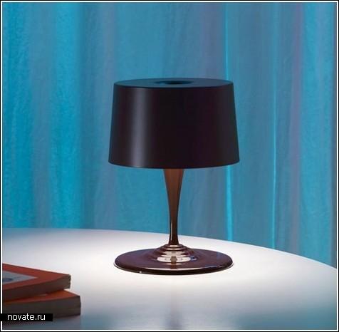Шоколадная лампа