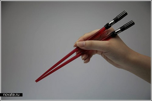 Вместо палочек – световые мечи