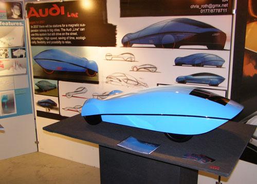 Автомобиль фирмы Аudi от Криса Рота (Chris Roth)