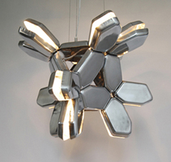 лампа «Clam» от John Wischhusen