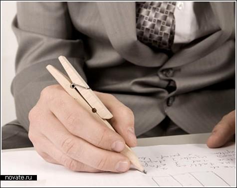 Прищепка-карандаш