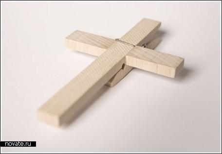 Прищепка-крест