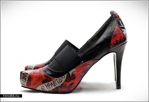 Туфли от Cocopunkz, разрисованные вручную