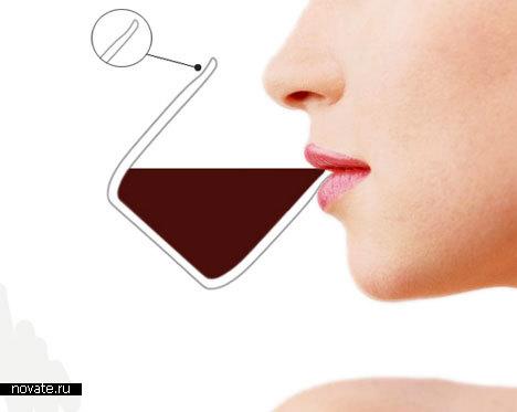 Чашка, идеально повторяющая форму губ