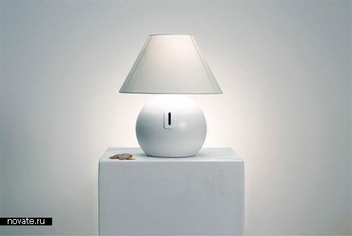 Лампа-копилка