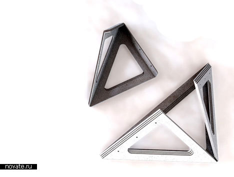 Стол-оригами от Vivien Muller
