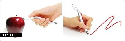 Ручка со встроенным сканером