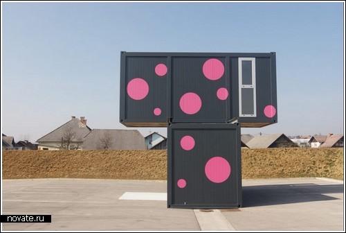 Дом из двух грузовых контейнеров