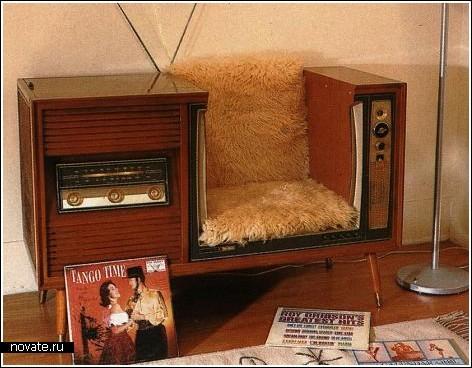 Кресло из старого телевизора