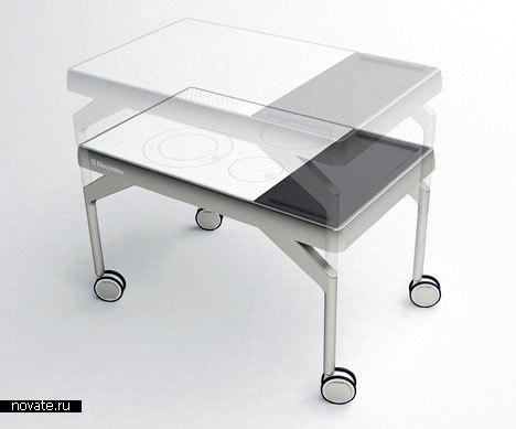 И плита, и стол