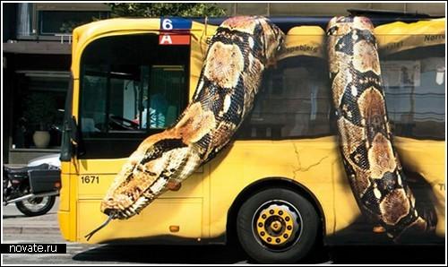 Змеи атакуют Копенгаген!» или креативная реклама от датчан
