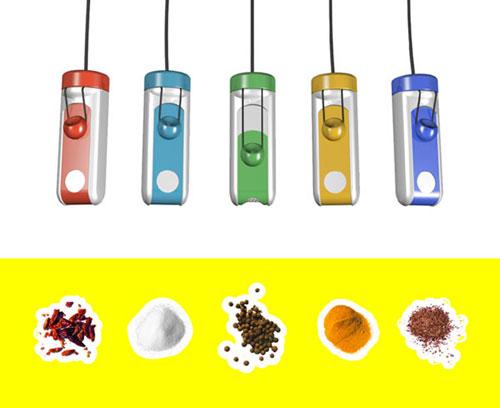 Контейнеры для специй «Bungee seasoning»
