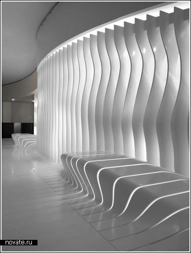 Светящийся интерьер для дома из Кориана