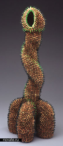 Произведения искусства из карандашей