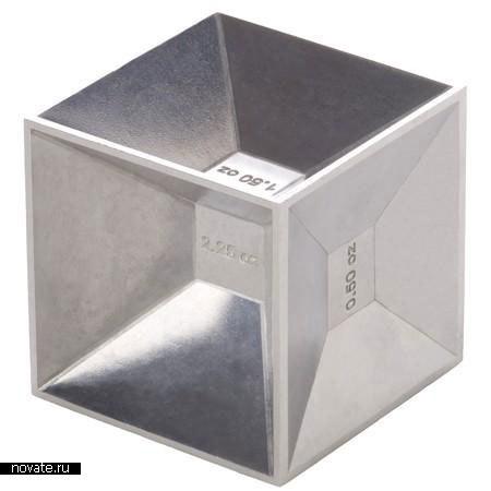 Измерительный куб для приготовления коктейлей