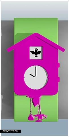 Наручные часы с кукушкой