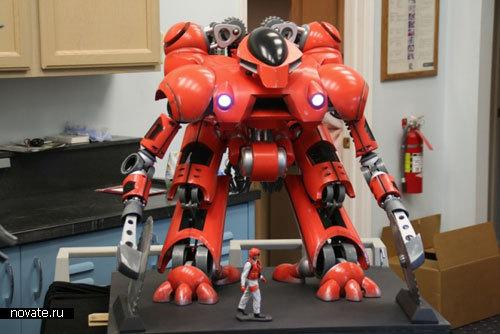 Робот, спасающий леса от пожаров