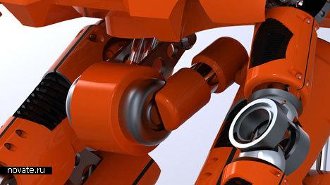 Концепт робота, спасающего леса от пожаров