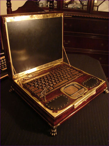 Ноутбук Datamancer's Steampunk Laptop