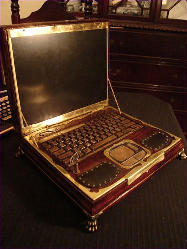 Ноутбук Datamancer's Steampunk Laptop