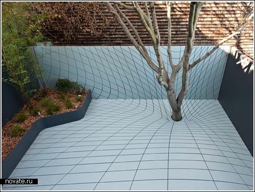 Оптическая иллюзия интерьер