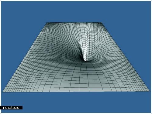 Оптическая иллюзия проваливающегося дерева