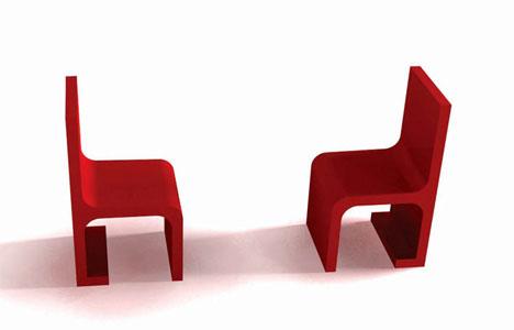 Мебель «Dialogue/Monologue» от Sylvain Favardin & Ludmila Korenarova