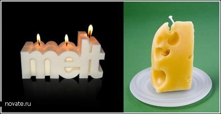 Свечки от дизайнеров