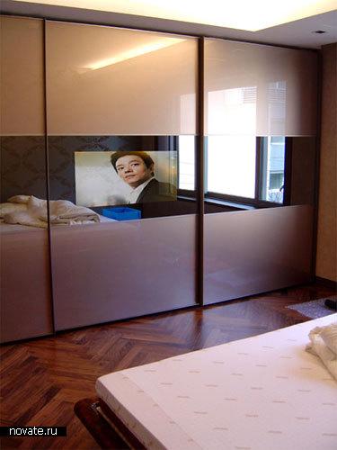 Зеркало+телевизор
