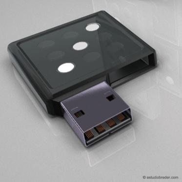 USB-домино от Marcos Breder