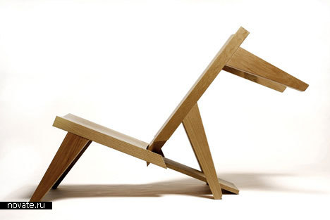 Скамья/шезлонг от Chih-Kang Chu