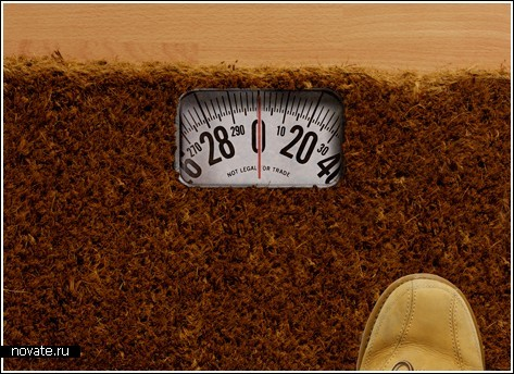 Коврик-весы