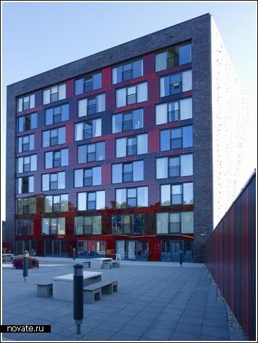 Общежитие в Голландии для любителей скалолазания