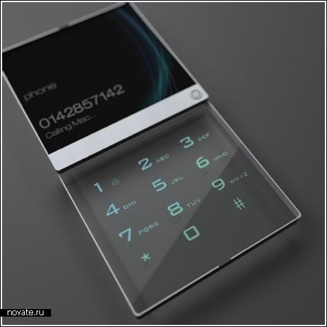 Мобильный телефон с 3D-дисплеем