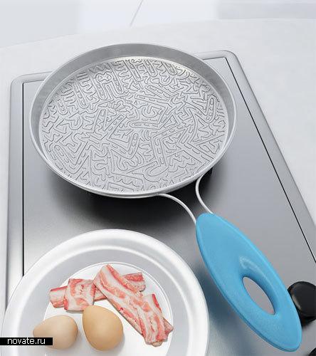 «Рисующая сковородка» от Fabrizio Garramone