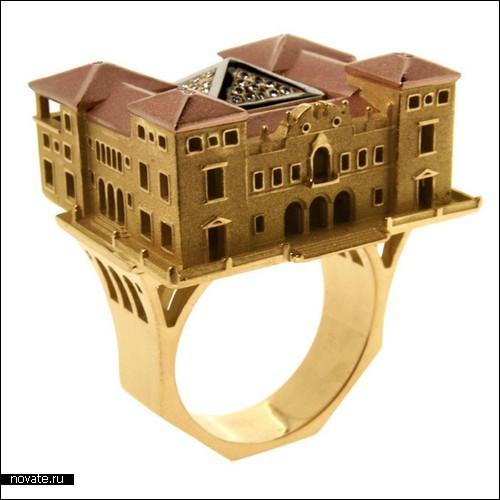 Кольца с домами мечты