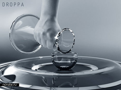 Графин в виде капельки воды