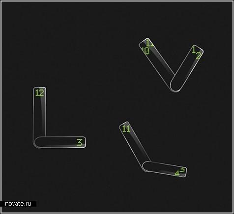 Концепт телефона на солнечных батареях
