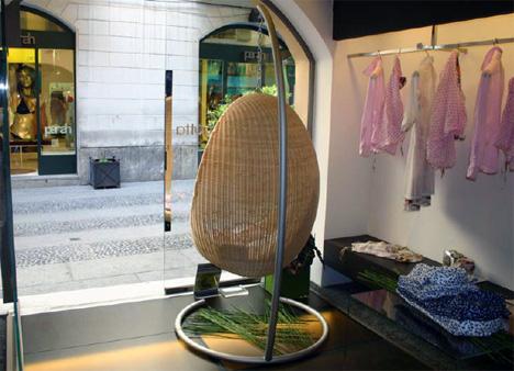 Кресло-яйцо от Nanna Ditze