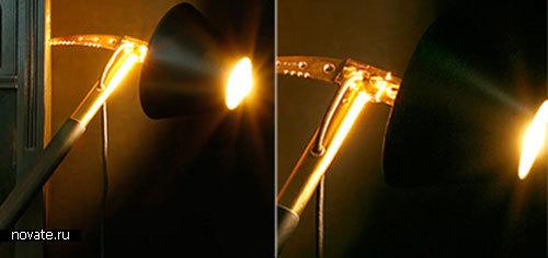 Светильник-ледоруб «Eiger North Light» от Mathias Ries
