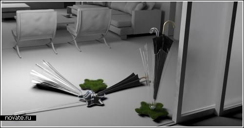 «Оазис» в доме – для зонтика