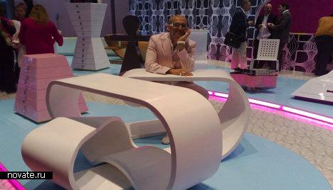 Бесконечный Нильский стол от Карима Рашида