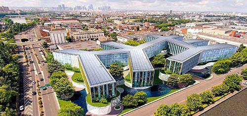 Здание Energy Plus в Париже