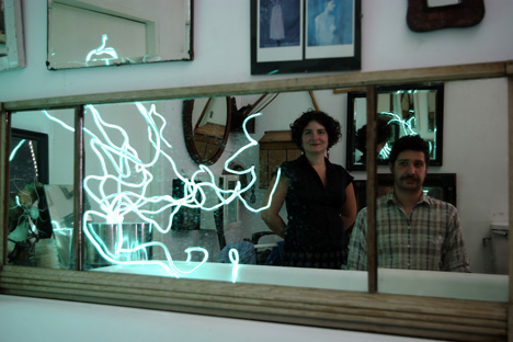 лампа-дерево от Jesus Felipe & Silvia Grimaldi