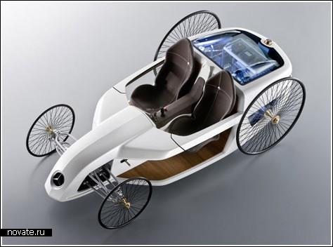 «Карета» на водородном топливе от Mercedes-Benz