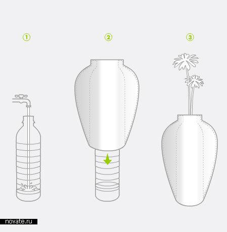 Ваза Facade Vase от The GreenHouse Effect