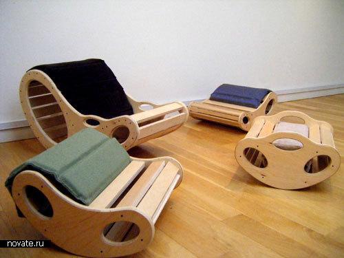 Кресло Fava Rocker