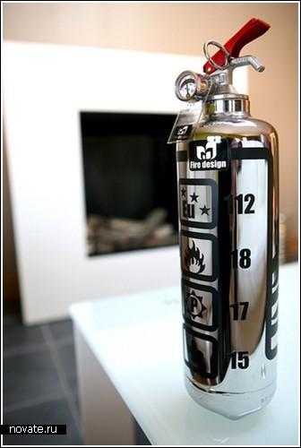 Креативные огнетушители от Fire Design