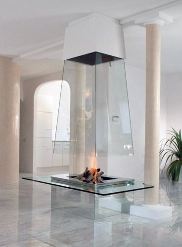 камины от компании Bloch-Design